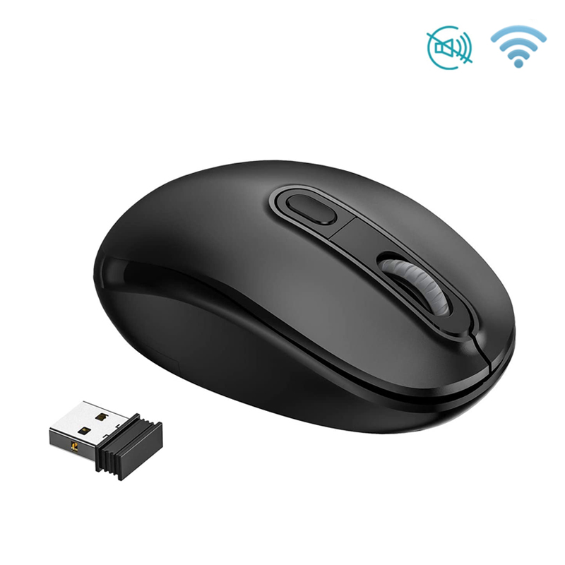 2.4GHz Wireless mouse With USB Receiver 1600DPI adjustable optical Mouse Ergonomic Mice silent mouse For Computer PC Laptop