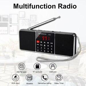 Image 3 - RETEKESS TR602 Radio Bluetooth AM FM ricevitore Radio portatile Stereo con lettore MP3 Wireless supporto per altoparlanti TF Card Sleep Timer