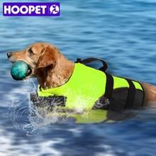 HOOPET спасательный жилет для собак, спасательный жилет для серфинга, одежда для плавания, летний отдых, Оксфорд, дышащий, французский Бульдог