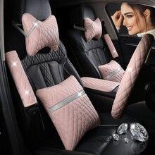Kkysyelva кожаная Автомобильная подушка на подголовник подушки