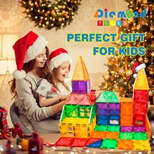 32 60 100 PCS Children Educational Construction 3D Building Blocks Magnetic Tiles Toys For Kids