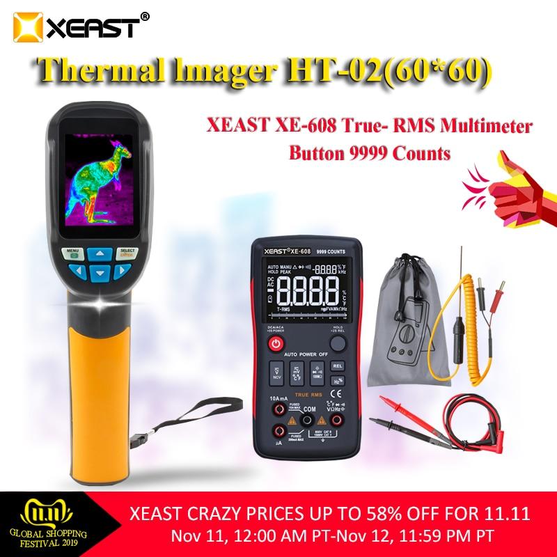 Entrega relâmpago do armazém de moscou HT-02 handheld câmera de imagem térmica ht02 e HT-18 XE-31 alta resolução ir