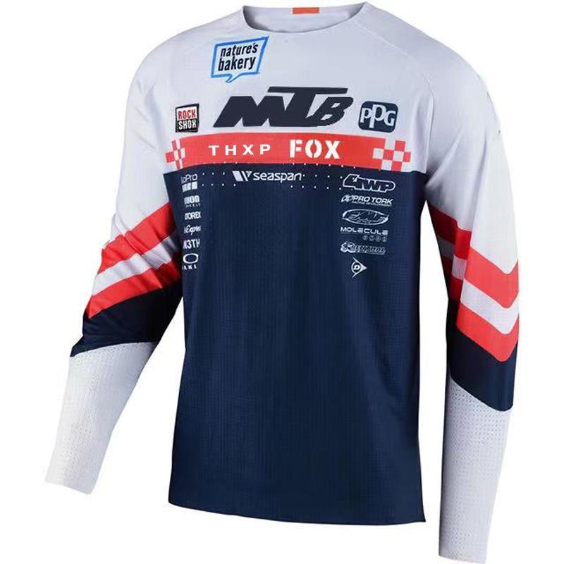 Camiseta de манга larga para ciclismo, maillot de Motocross, todoland, ATV, Mtb, DH, newest de 2021