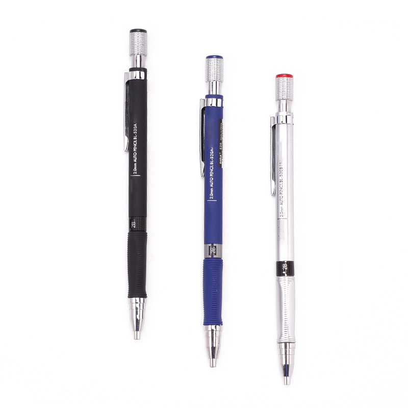 1 Pc 2mm Plastic And Metal Lead Holder Mechanical Draft Pencil Drawing 2.0mm Lead Holder Mechanical Pencil