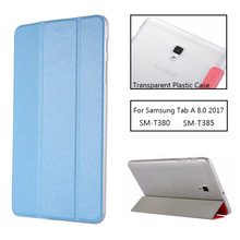 Tablet case for funda Samsung Galaxy Tab A 8.0 2017 case SM-T380 SM-T385 T380 leather flip cover stand case protective shell tab a 8 0 2017 litchi folio pu leather case flip cover for samsung galaxy tab a 8 0 2017 a2s t380 t385 sm t385 tablet case