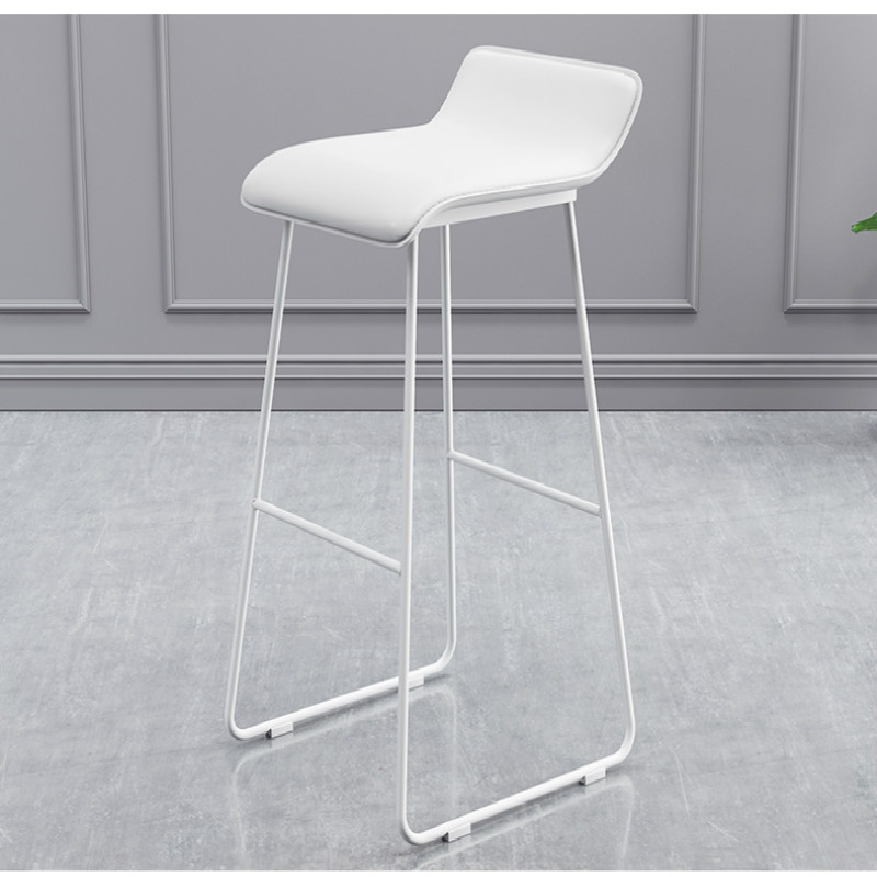 Customized Nordic Iron Arts Creative Modern And Simple Fashion Bar Chairs And Stools Leisure Cafe Front Desk Bench Bar Chairs