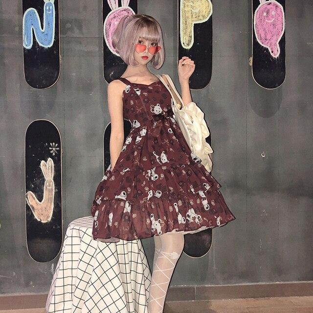 Фото винтажное платье лолиты для костюмированной вечеринки милое