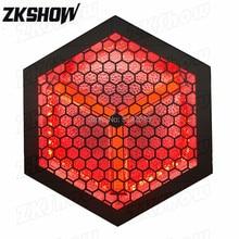 10 adet/grup 3*60W LED + RGB taşıma arka plan ışığı DJ Disko parti festivali konser müzik TV gösterisi sahne aydınlatma ile Flycase