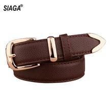 Ladie's-ceintures en cuir véritable pour femmes, ceintures antiques à boucle à la taille, plusieurs couleurs au choix, FCO095, offre spéciale