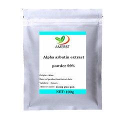 Вега 100% чистый Альфа арбутин порошок Альфа арбутин экстракт порошок косметический ингредиент высшего класса косметика для кожи отбеливающ...