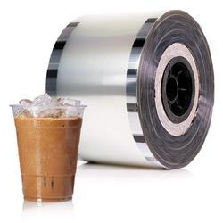 Kubek do bubble tea folia plastikowa cup lamp cup logofilm statues -