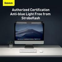 Baseus USB Asymmetric Light Source Screen Hanging Light Pro Black Screen Light Computer Lamp Led Desk Lamp For Reading Light