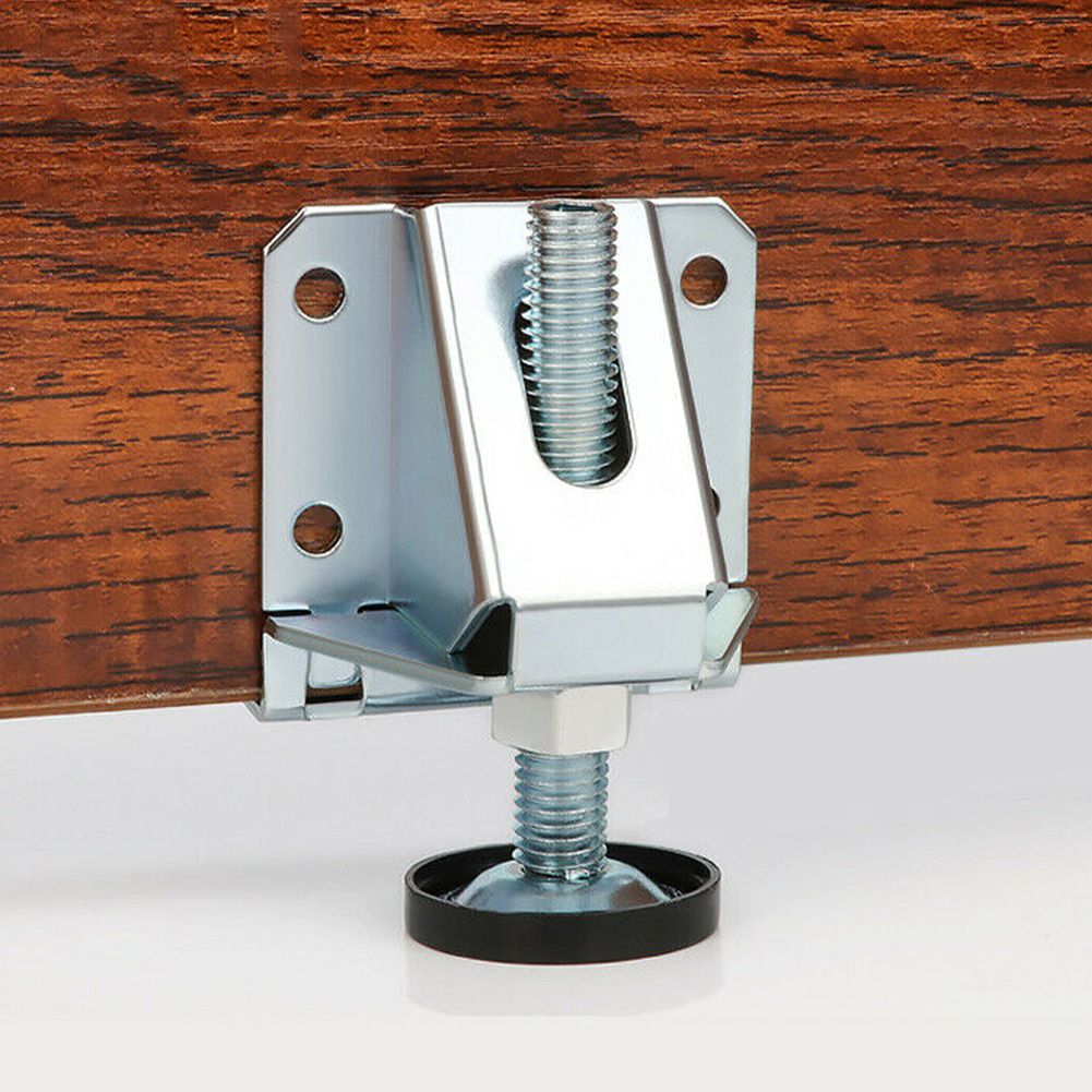 2pcs Adjustable Furniture Leg Leveler Leveling Feet Heavy Duty Furniture Levelers Strong Load-bearing Table Leg Leveler