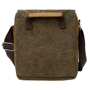 Image 5 - Photo Video Camera Waterproof Canvas Shoulder Retro Vintage DSLR Bag Carrying Case for Canon Nikon Sony SLR Photography