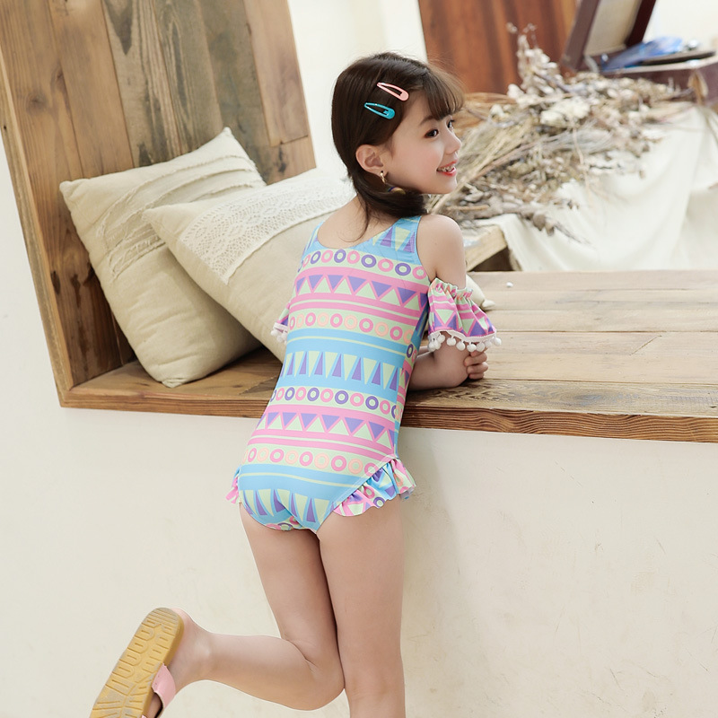 KID'S Swimwear WOMEN'S Swimsuit One-piece Princess Dress-Baby Bathing Suit Cute GIRL'S Swimsuit CHILDREN'S Big Boy