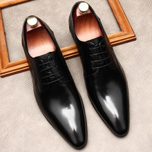 Chaussures Oxford de styliste en cuir véritable pour hommes, Brogue formelles de bureau, de mariage, noires et brunes, nouvelle collection