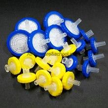 100pcs 200pcs 13/25mm, 0.22/0.45/0.8/3/5um Hydrofiele microporeuze filter, CA CN Spuit millipore filtratie