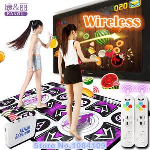 Yoga-Mat Sense-Game Double-Dance-Pad for PC TV Two-Remote-Controller Non-Slip-Pad Non-Slip-Pad