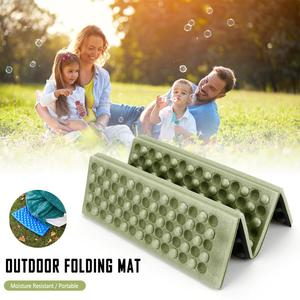 Folding Cushion Outdoor Chair Ultralight Camping Chair Foldable Outdoor Seat Foam EVA Cushion Portable Waterproof Camping Pad ND