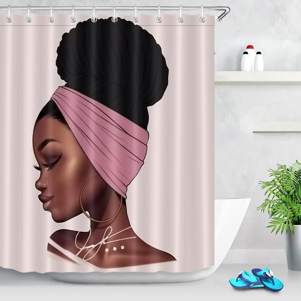 beautiful turban black girl african