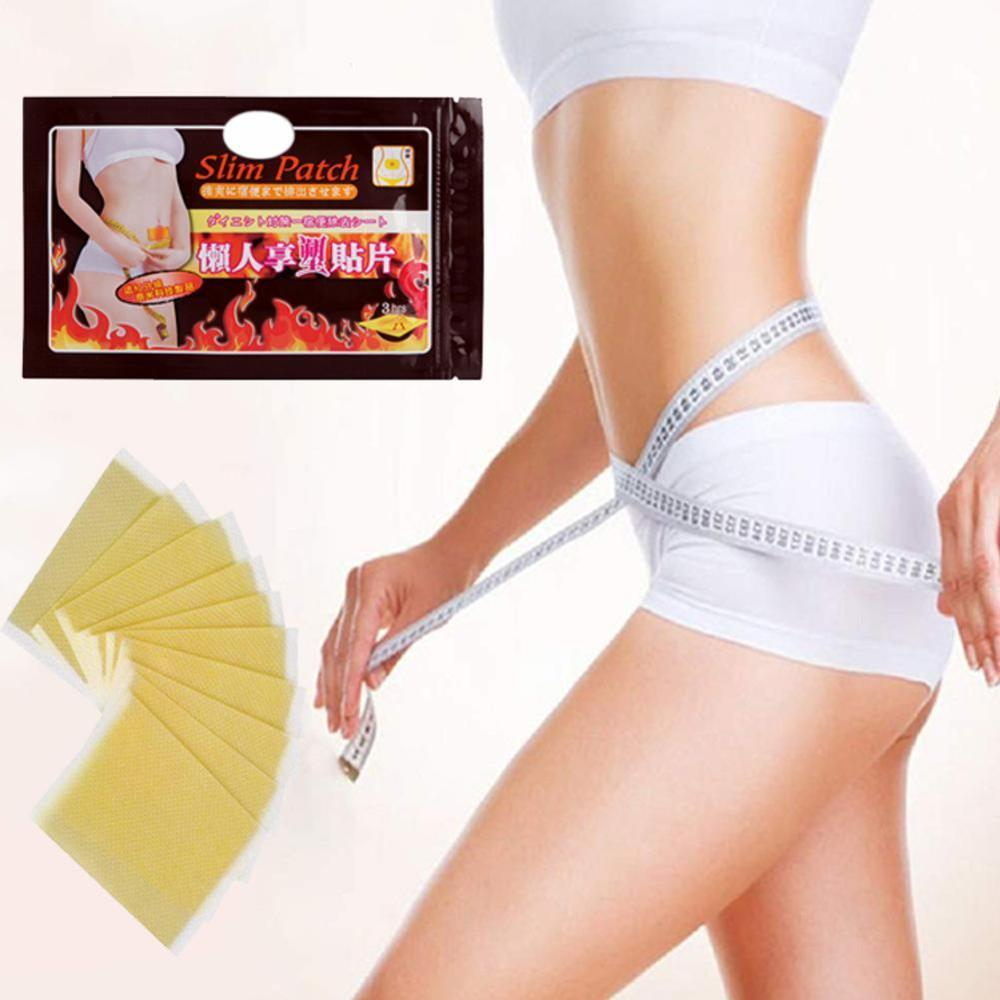 10 Pcs Hot Sale Slimming Stick Slimming Navel Sticker Patch Loss Burning Slim Weight Fat Patch P9V0