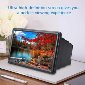 Soporte Universal portátil 3D para amplificar la pantalla del teléfono inteligente, lupa estereoscópica HD, soporte de amplificación para Huawei, iphone y Samsung