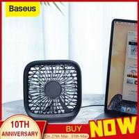 Baseus מתקפל מיני USB אוהדי רכב מושב אחורי Cooler מאוורר נייד אוויר קירור מאוורר עבור בית נסיעות רכב משענת ראש שולחן העבודה משרד אוהדים-במאווררים מתוך מכשירי חשמל ביתיים באתר