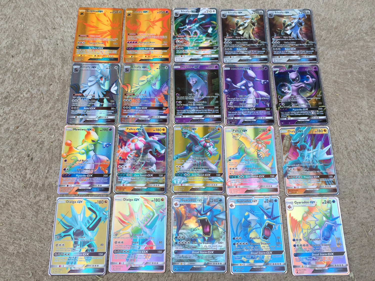 200 Pcs GX MEGA Shining TAKARA TOMY Game Pokemon Cards Battle Carte Trading Cards Game Children Toy
