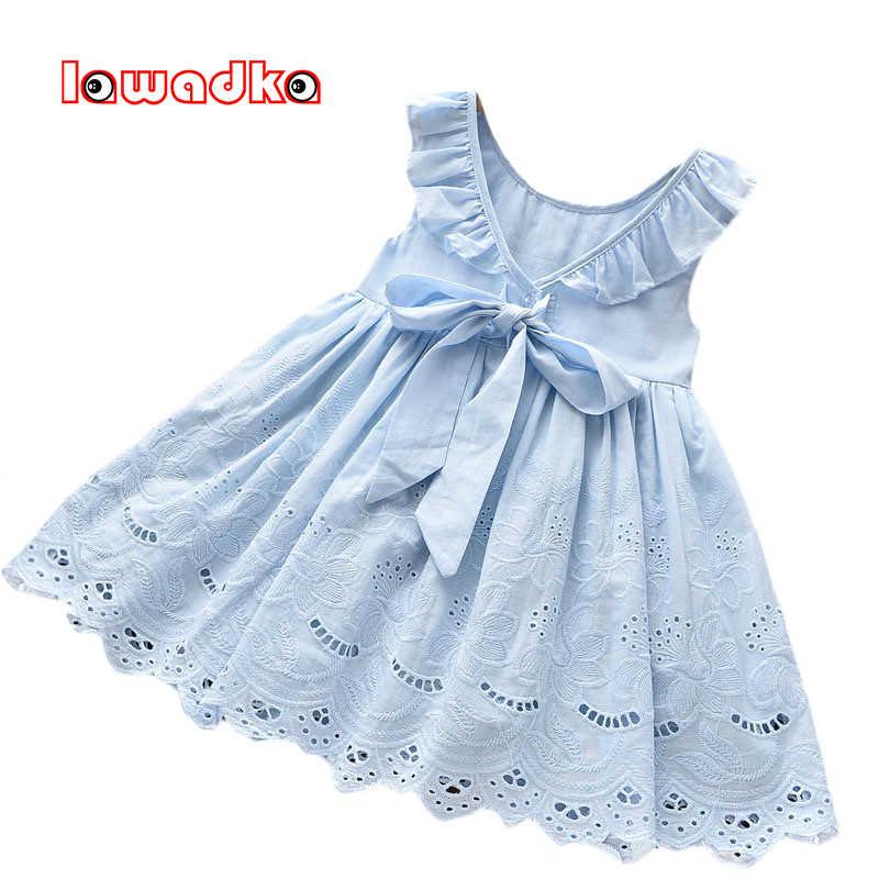 2020 Sommer Baby Strand Kleidung Einhorn Kleid Ärmellos Prinzessin Kleid