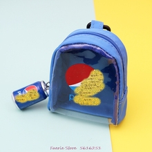Summer Creative Keychain New Sport Coke Transparent Pvc Coin Purse Key Chain Tinplate Storage Bag Keyring Accessories Cute yesello creative cute candy color macarons coin purse coin pack key bag hand held packet