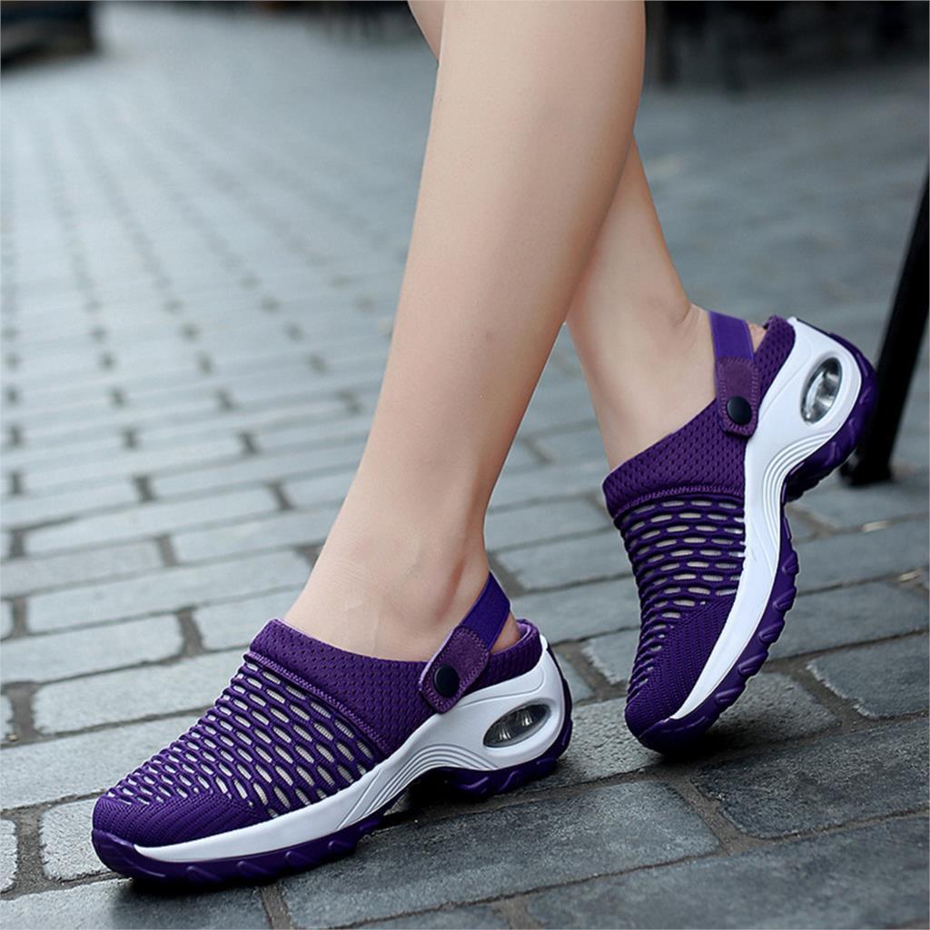 Shoes Woman Platform Slippers Sandals Light Breathable Sports Sandal Platform Shoes Slipper Female C
