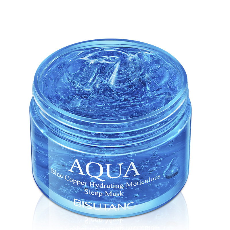 Blue Copper Peptide Rehydration Sleeping Mask 120g Moisturizing Non-washing Facial Mask