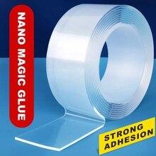 Ruban adhésif Double face Transparent, 1/2/3, 3cm, pour tapis fixe lavable, Gadget de colle acrylique universel gekko