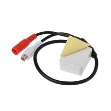 Микрофон аудио звукосниматель устройство мониторинга звука для камеры видеонаблюдения системы безопасности LX9A