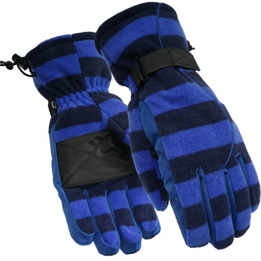 Waterproof Polar Fleece Warm Gloves Winter Outdoor Skiing Wear Waterproof Windproof Full Finger Ski Snowboard Sports Gloves Mitt