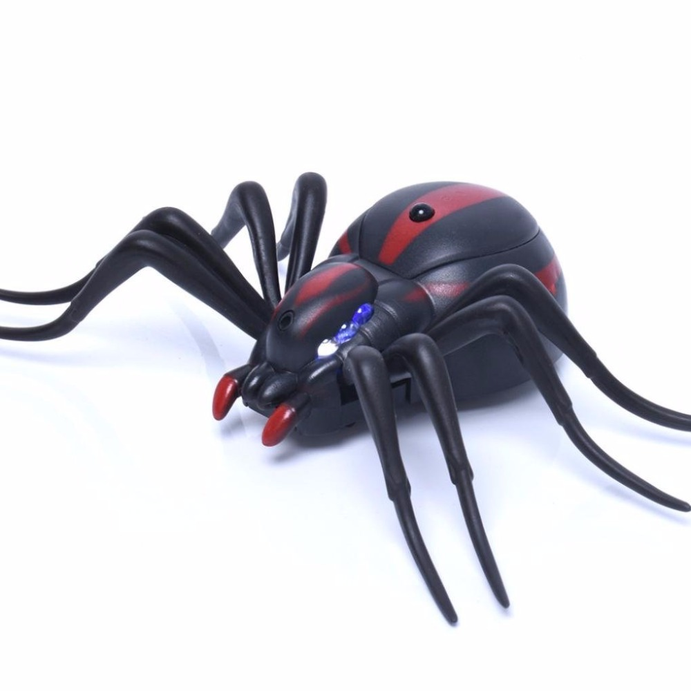 Simulation RC False Spider Infrared Electronic Pet Robotic Insect Remote Control Prank Toys For Kids Dropshipping|RC Robots & Animals| |  - title=