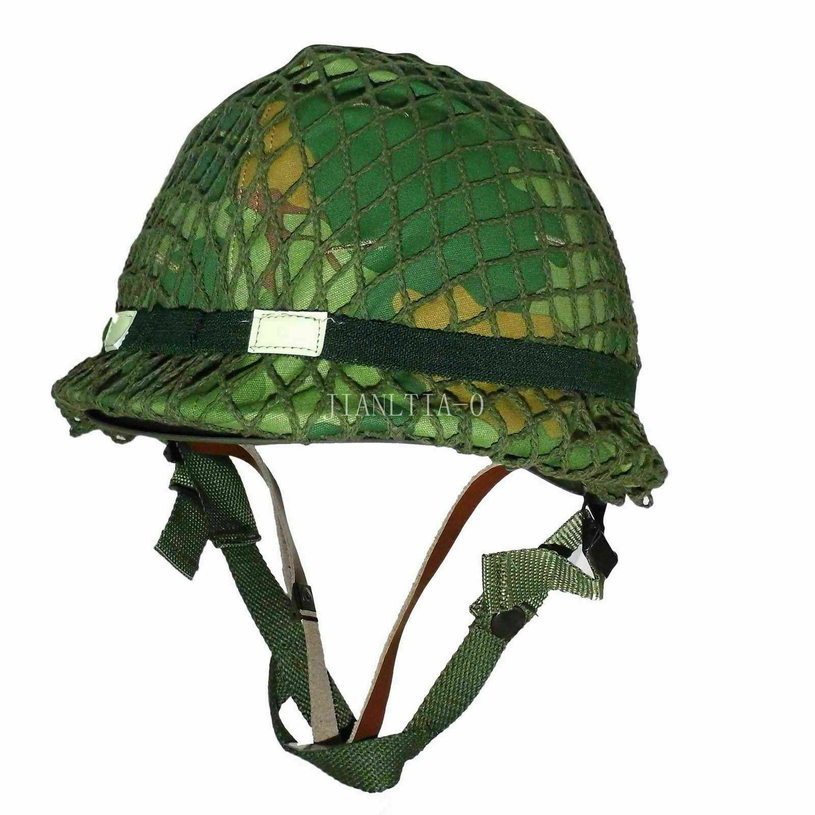 Tomwang2012 Vietnam War Mitchell Camo Us Army M1 Jungle Combat Helmet Military War Reenactments Sports Souvenirs Aliexpress