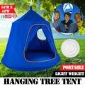 Детский синий качающийся стул  палатка для помещений и улицы  Висячие сиденья для сада  гамак