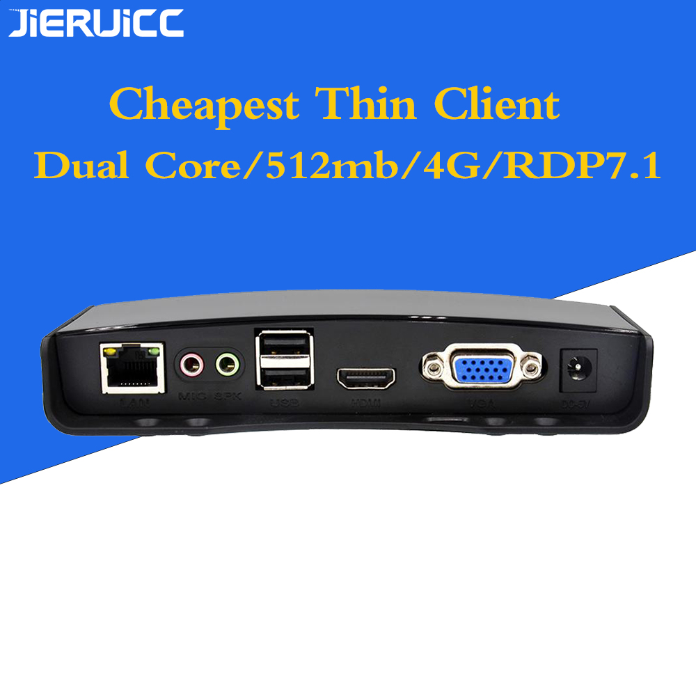 Cheap Zero Client G2 For Cbt Center With RDP8.1 Protocol/Dual Core 1.2Ghz.RAM512mb.Flash4GB