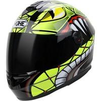 2019 New Knight Safety protection YOHE Full Face Motorcycle Helmet ABS Motocross Motorbike Helmets PC Lens Visor cobra pattern