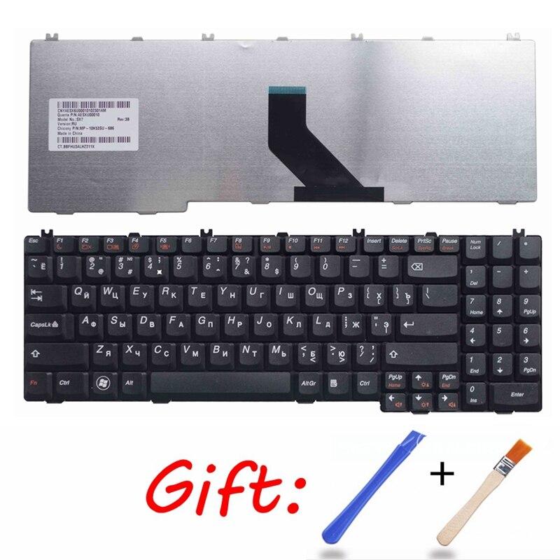 Russian Black New RU Laptop Keyboard For Lenovo G555 G550M G550S G555AX G550AX G550 G550A G555AX B550 B560 V560 B560A G555A
