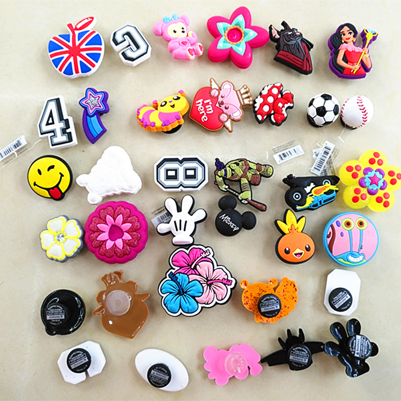 10 Pcs Shoe Charms Jibbitiz Accesorios Zapatos Croc Shoe Decoration Bow Broches Zapatos Shoe Pin Jibbits Croccs Croc Decorations