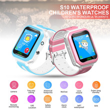 Buy Kids Smart Watch GPS Tracker  Telephone SOS Anti-Lost OLED Display Wristwatch directly from merchant!
