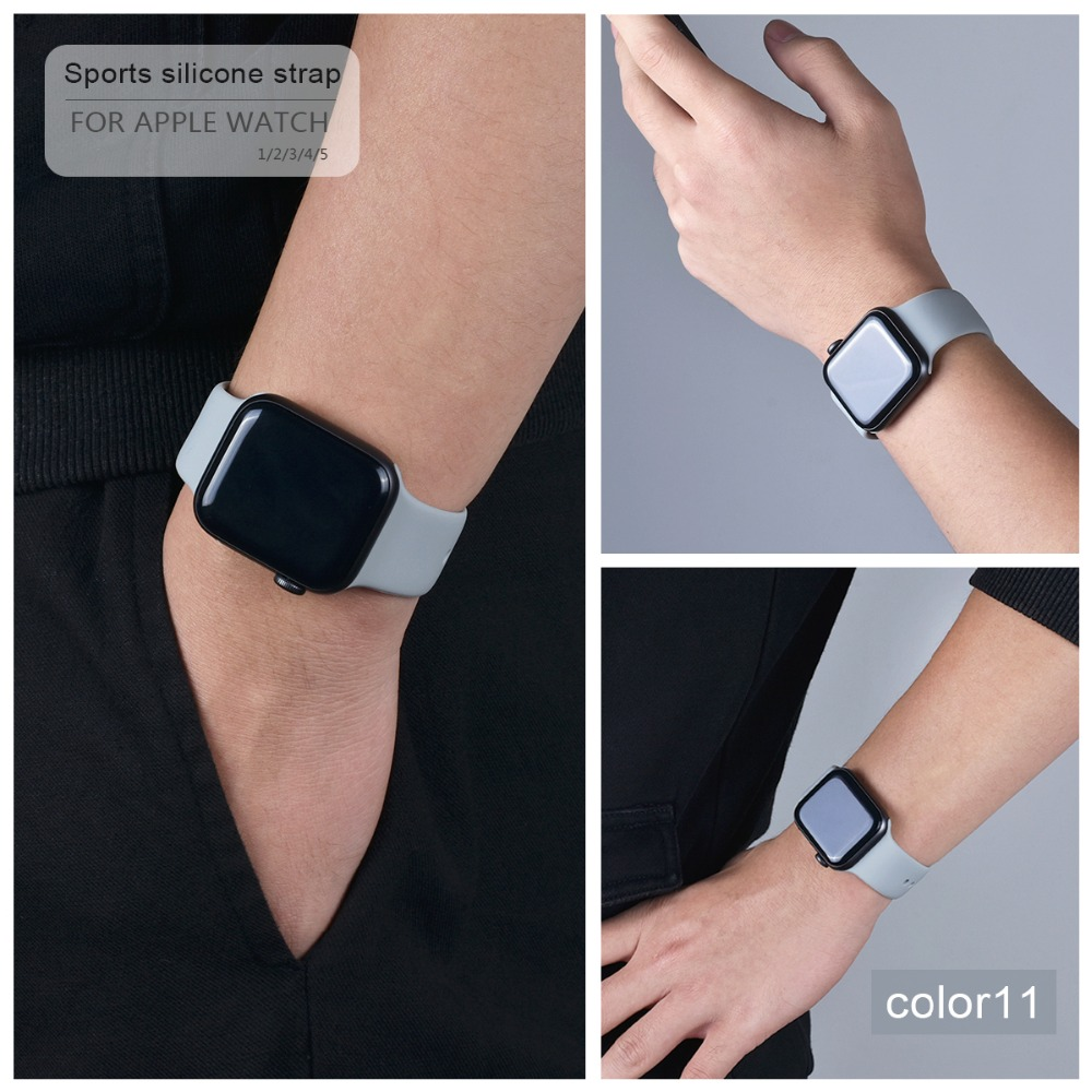 Soft Silicone Band for Apple Watch 92