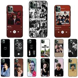 One Direction Louis Tomlinson Phone Case For iPhone 12 8 7 6 6S Plus 7 plus 8 plus X XS MAX 5 5S XR 11 12 Pro max SE 2020