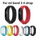 Mi Band 4 3 ремешок на запястье для Xiaomi mi band 4 силиконовый браслет для Xiaomi mi band 3 mi band 4 Смарт-часы браслет ремни