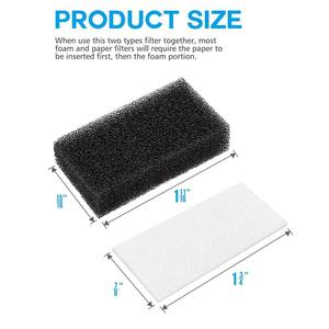 Image 2 - CPAP Filters CPAP Foam Filters and Ultra Fine Filters For Philips Respironics M Series, PR System One and SleepEasy Series