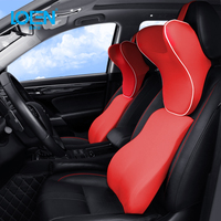 1PC U shaped Soft Car Neck Pillow Auto Support Memory Foam Headrest Universal Support For Travel Office Home Car for toyota bmw