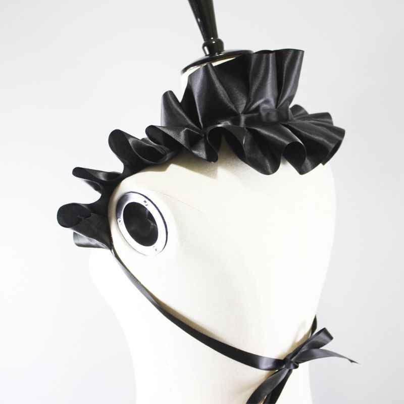 THINKTHENDO Ретро готический стиль съемный фальшивый воротник большая волна Riffles ожерелье колье Декор