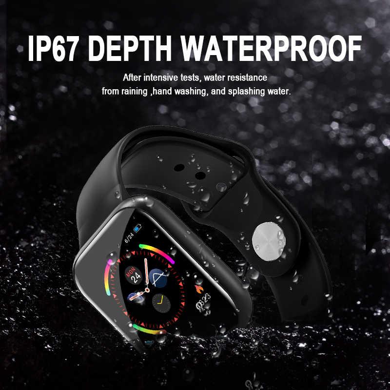 I5 スマートウォッチ防水心拍数モニターフィットネストラッカー歩数計ブレスレット pk IWO 8 10 のための名誉 Huawei 社